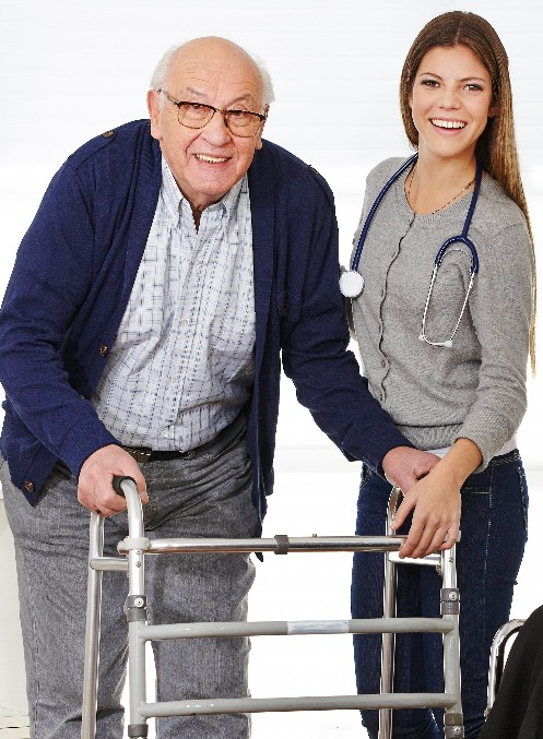 Patient senior home care services